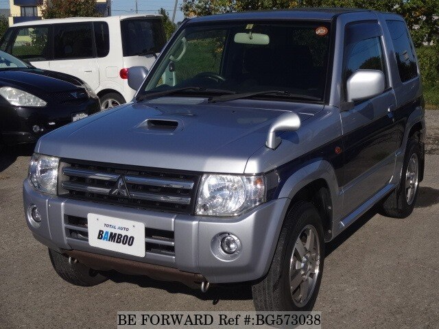 Used 2008 MITSUBISHI PAJERO MINI BG573038 for Sale
