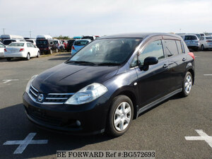 Used 2008 NISSAN TIIDA BG572693 for Sale