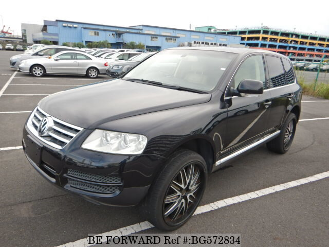 Used 2003 VOLKSWAGEN TOUAREG BG572834 for Sale
