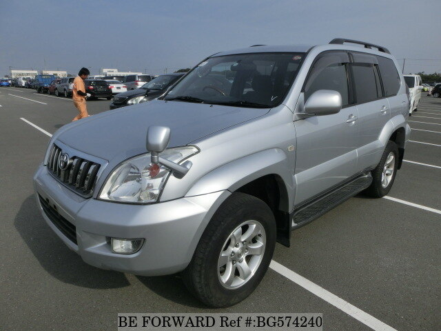 Used 2006 TOYOTA LAND CRUISER PRADO BG574240 for Sale