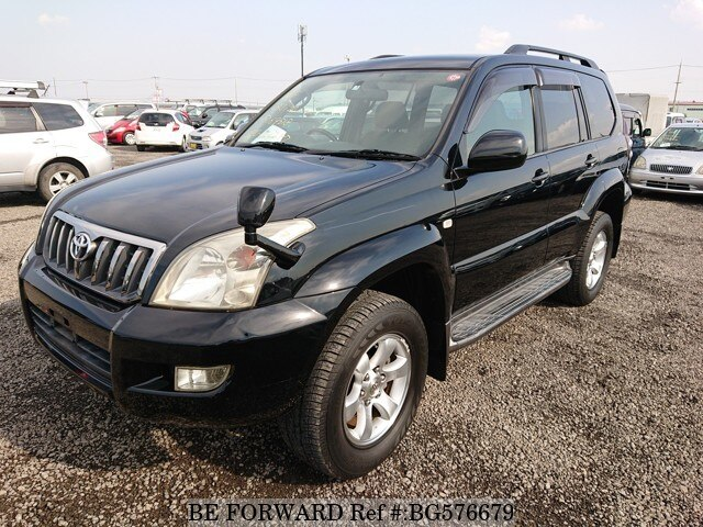 Used 2007 TOYOTA LAND CRUISER PRADO BG576679 for Sale
