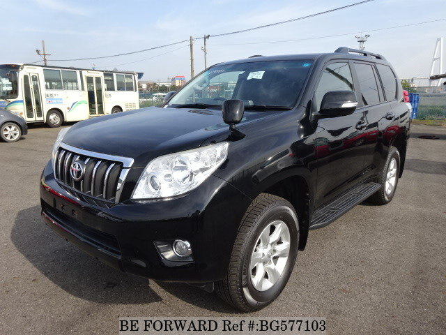 Used 2011 TOYOTA LAND CRUISER PRADO BG577103 for Sale