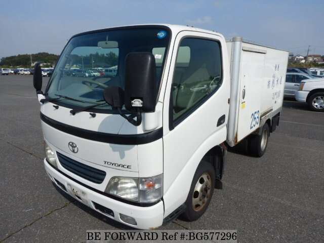 Used 2002 TOYOTA TOYOACE BG577296 for Sale