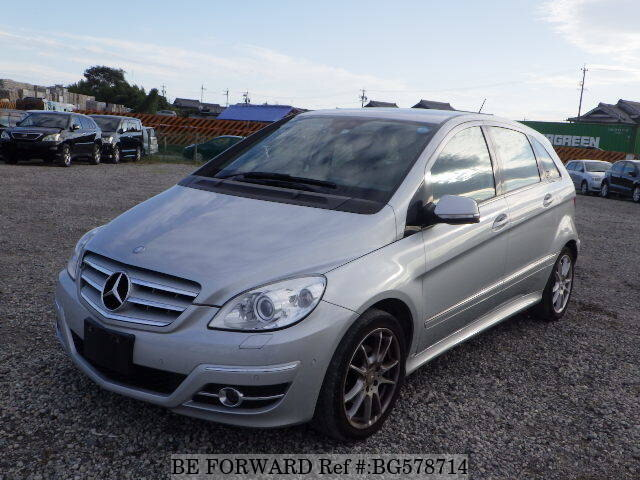 Used 2008 MERCEDES-BENZ B-CLASS BG578714 for Sale