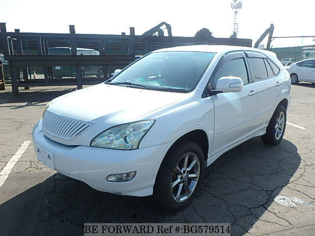 Used 2009 TOYOTA HARRIER BG579514 for Sale