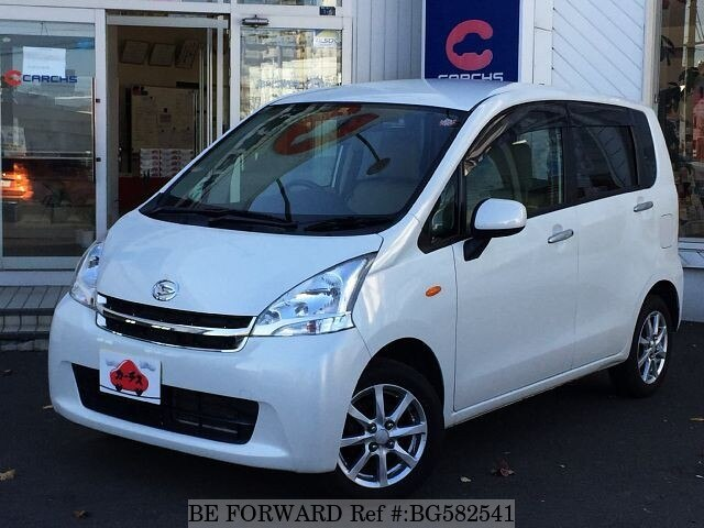 Used 2012 DAIHATSU MOVE BG582541 for Sale