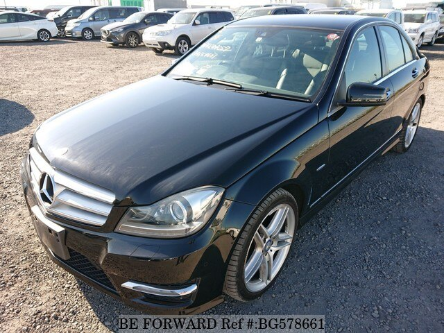 Used 2012 MERCEDES-BENZ C-CLASS BG578661 for Sale