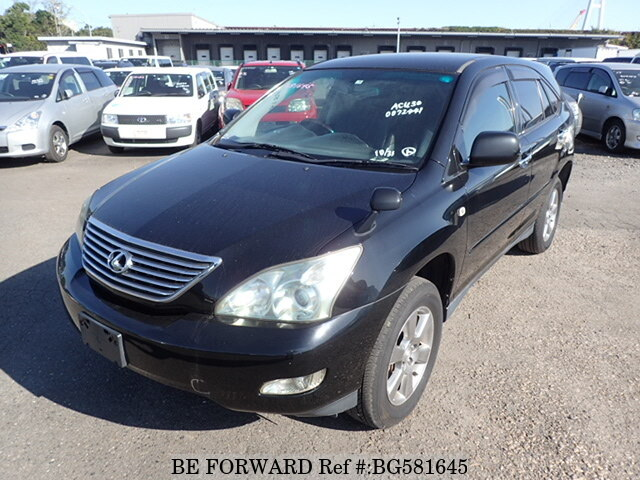 Used 2007 TOYOTA HARRIER BG581645 for Sale