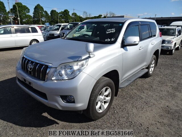 Used 2011 TOYOTA LAND CRUISER PRADO BG581646 for Sale