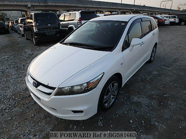 Used 2007 HONDA STREAM BG581663 for Sale