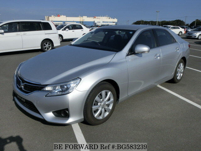Used 2015 TOYOTA MARK X BG583239 for Sale