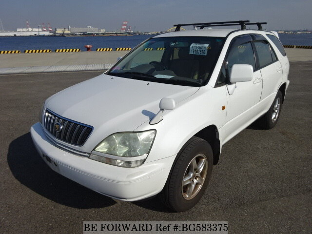 Used 2002 TOYOTA HARRIER BG583375 for Sale