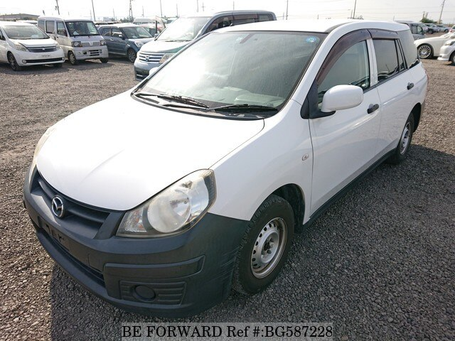 Used 2012 MAZDA FAMILIA VAN BG587228 for Sale