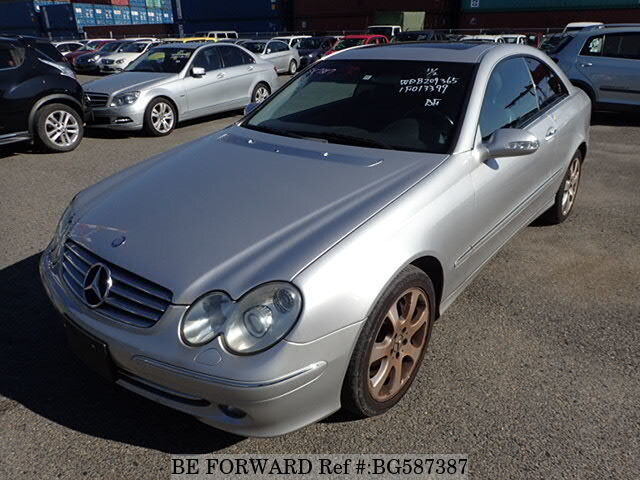 Used 2002 MERCEDES-BENZ CLK-CLASS BG587387 for Sale