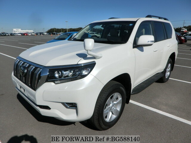 Used 2018 TOYOTA LAND CRUISER PRADO BG588140 for Sale
