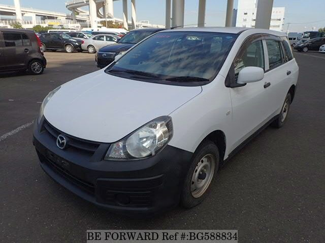 Used 2012 MAZDA FAMILIA VAN BG588834 for Sale