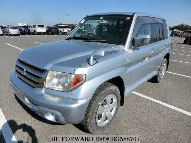 Used 2007 MITSUBISHI PAJERO IO BG588707 for Sale