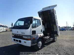 Used 1997 MITSUBISHI FIGHTER MIGNON BG589770 for Sale