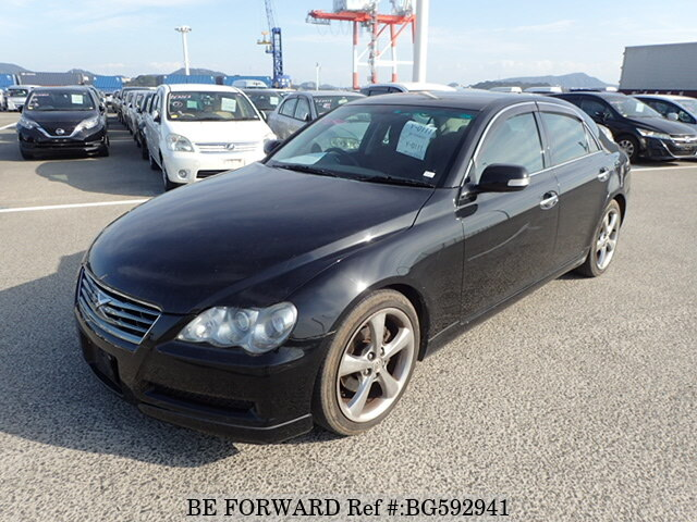 Used 2009 TOYOTA MARK X BG592941 for Sale
