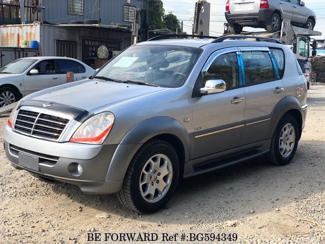 Used 2007 SSANGYONG REXTON BG594349 for Sale