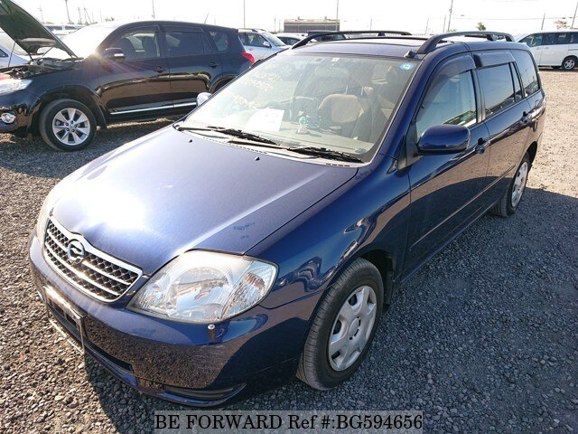 Used 2001 TOYOTA COROLLA FIELDER BG594656 for Sale