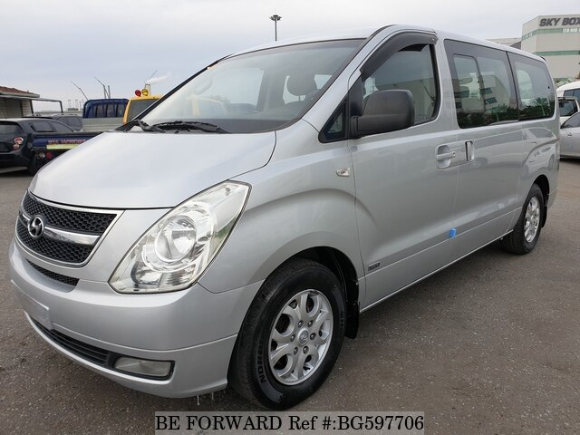 Used 2008 HYUNDAI GRAND STAREX BG597706 for Sale