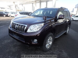 Used 2009 TOYOTA LAND CRUISER PRADO BG597192 for Sale