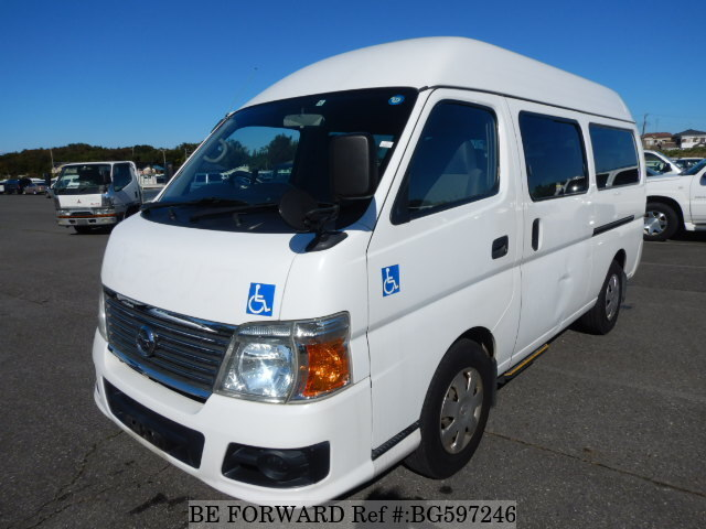 Used 2011 NISSAN CARAVAN BUS BG597246 for Sale