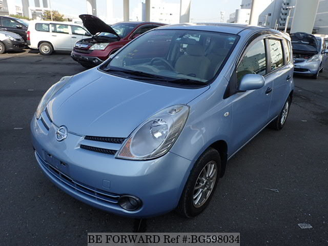 Used 2007 NISSAN NOTE BG598034 for Sale