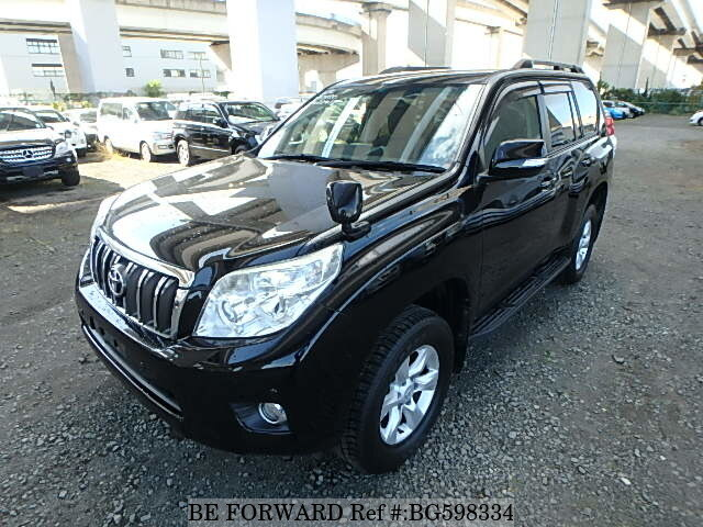 Used 2013 TOYOTA LAND CRUISER PRADO BG598334 for Sale