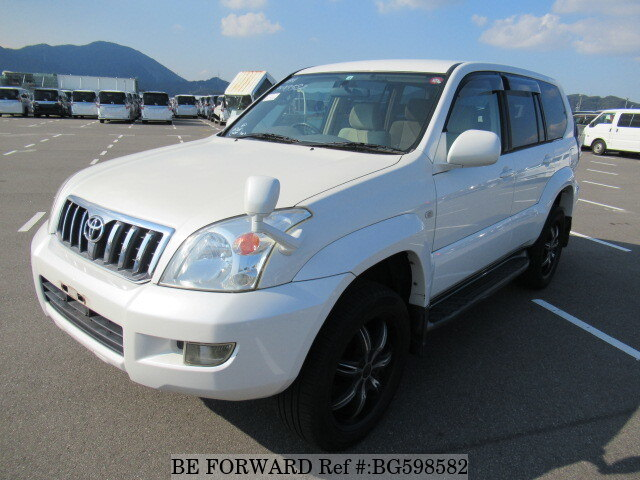 Used 2004 TOYOTA LAND CRUISER PRADO BG598582 for Sale