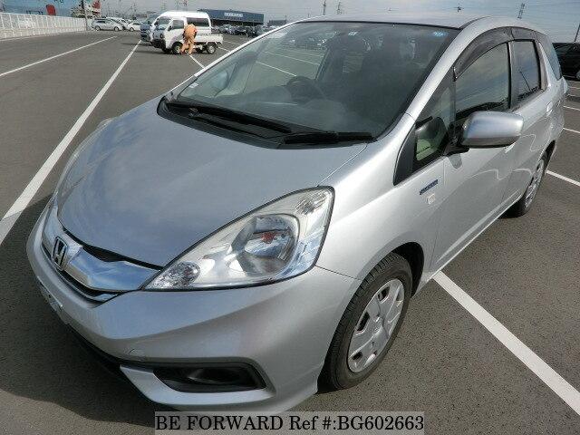 Used 2014 Honda Fit Shuttle Hybrid Hybrid C Daa Gp2 For Sale Bg602663 Be Forward