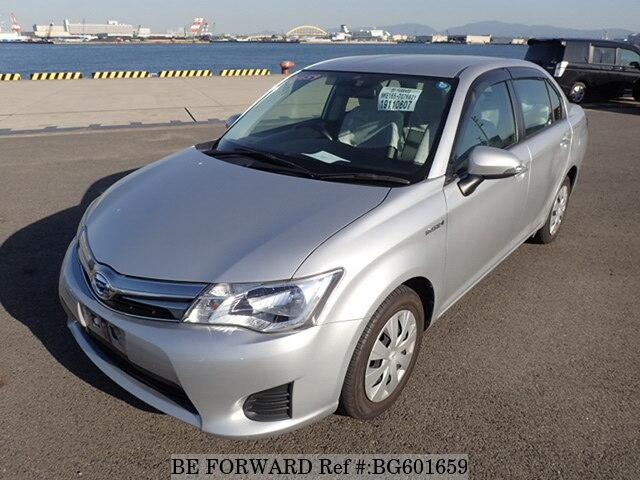 Toyota Axio Hybrid 2014 User Manual English
