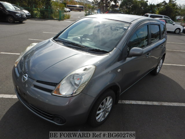 Used 2006 NISSAN NOTE BG602788 for Sale