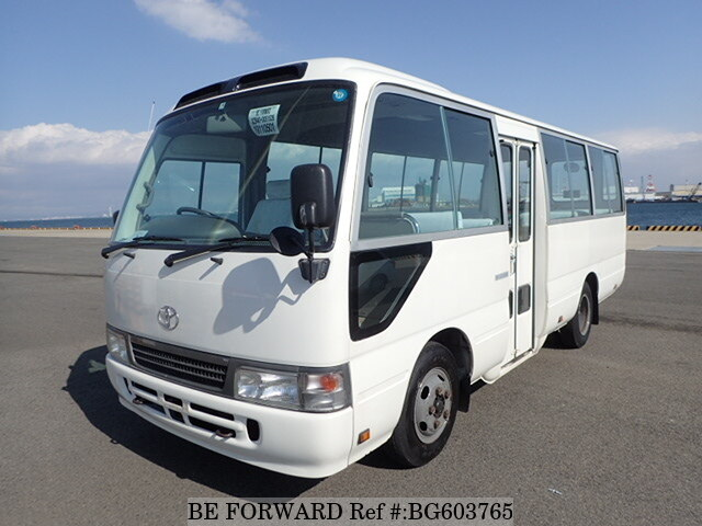 Used 2007 TOYOTA COASTER BG603765 for Sale
