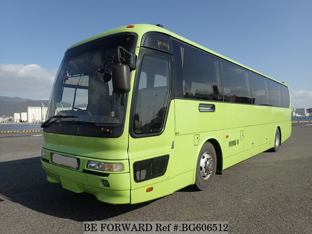 Used 1998 MITSUBISHI AERO BUS BG606512 for Sale