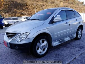 Used 2006 SSANGYONG ACTYON BG613133 for Sale