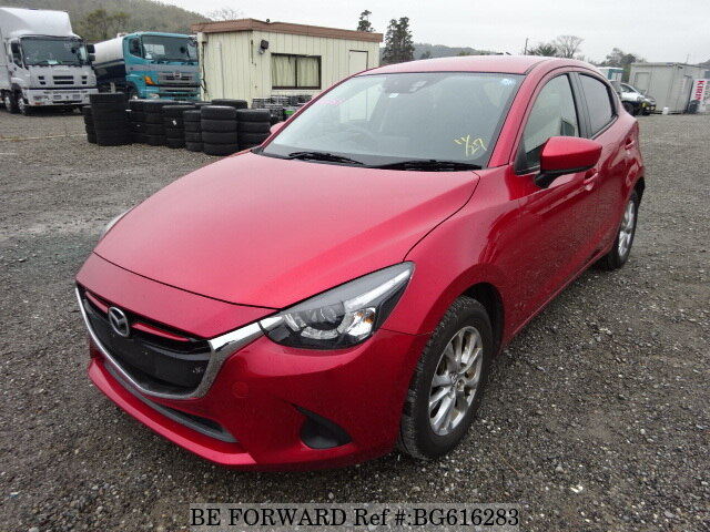 Used 2014 MAZDA DEMIO BG616283 for Sale