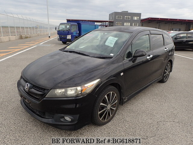 Used 2009 HONDA STREAM BG618871 for Sale