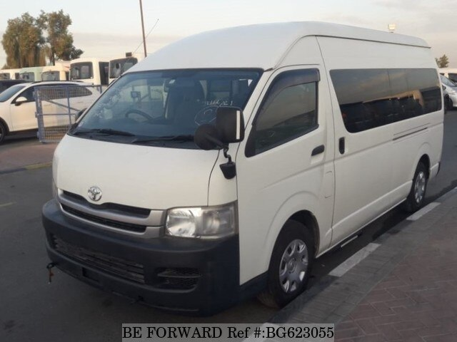 Used 2010 TOYOTA HIACE COMMUTER BG623055 for Sale