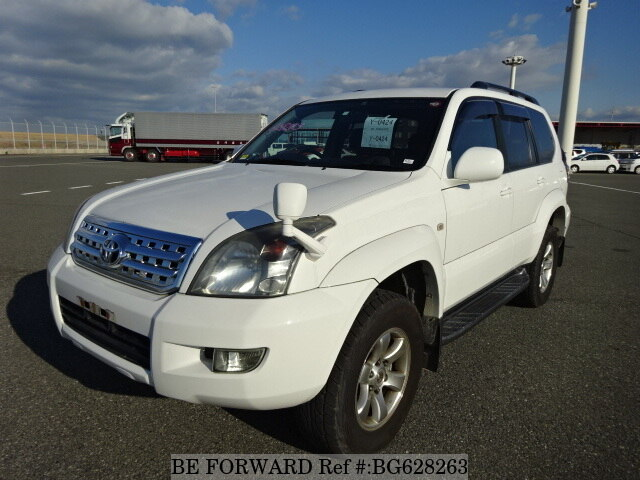 Used 2006 TOYOTA LAND CRUISER PRADO BG628263 for Sale