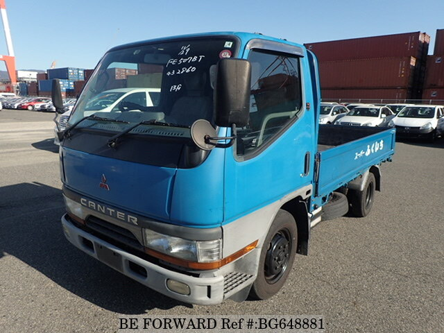 Used 1999 MITSUBISHI CANTER BG648881 for Sale