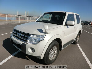 Used 2010 MITSUBISHI PAJERO BG608472 for Sale