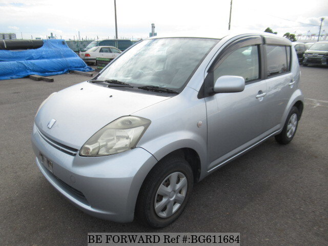 Used 2005 TOYOTA PASSO BG611684 for Sale