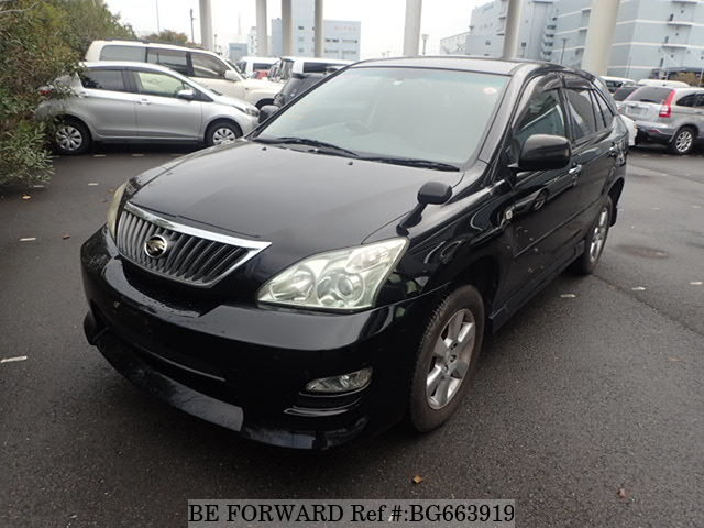 Used 2008 TOYOTA HARRIER BG663919 for Sale