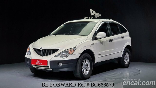 Used 2008 SSANGYONG ACTYON BG666579 for Sale