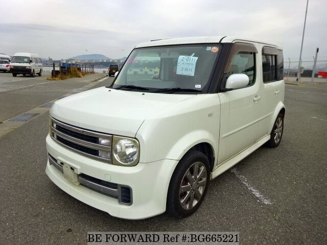 Used 2006 NISSAN CUBE BG665221 for Sale