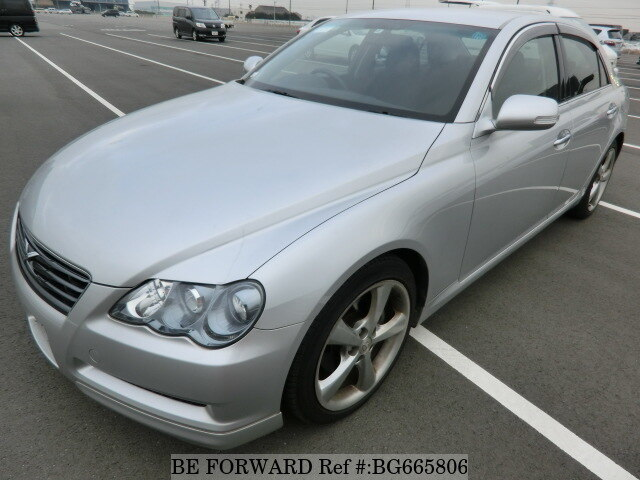 Used 2008 TOYOTA MARK X BG665806 for Sale