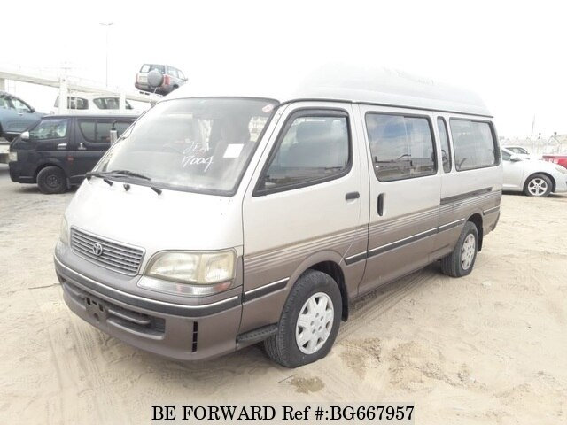 Used 1996 TOYOTA HIACE COMMUTER BG667957 for Sale