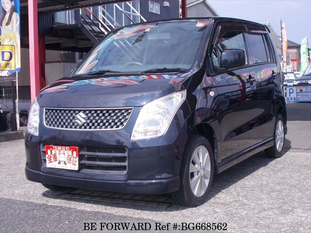 Used 2009 SUZUKI WAGON R BG668562 for Sale